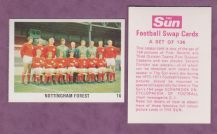 Nottingham Forest Team 16